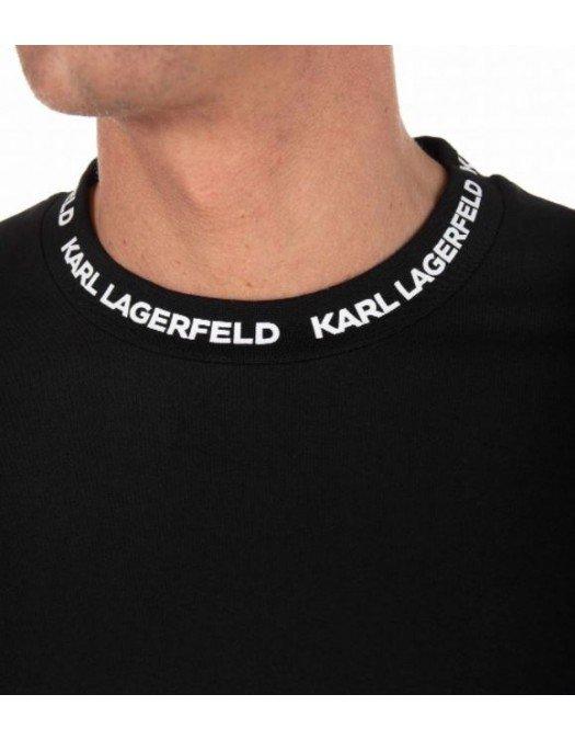 TRICOU KARL LAGERFELD, Logo Guler, Bumbac - 755022511221990