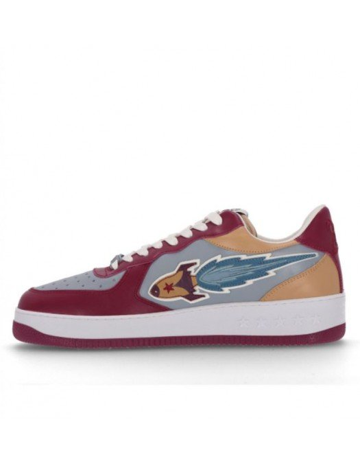 Sneakers ENTERPRISE JAPAN, Leather, Smog Wine Camel - BB1005PX209S1092