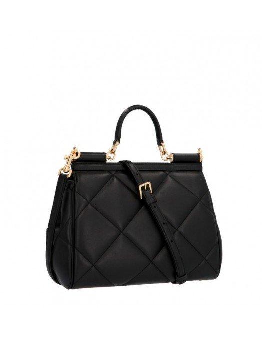 GEANTA DOLCE & GABBANA -Sicily Bag, CalfSkin - BB6002AW59180999