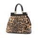 GEANTA DOLCE & GABBANA -Sicily Bag Leopard