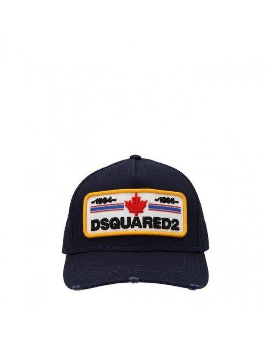 SAPCA DSQUARED2, Logo Patch, Black - BCM050205C000013073