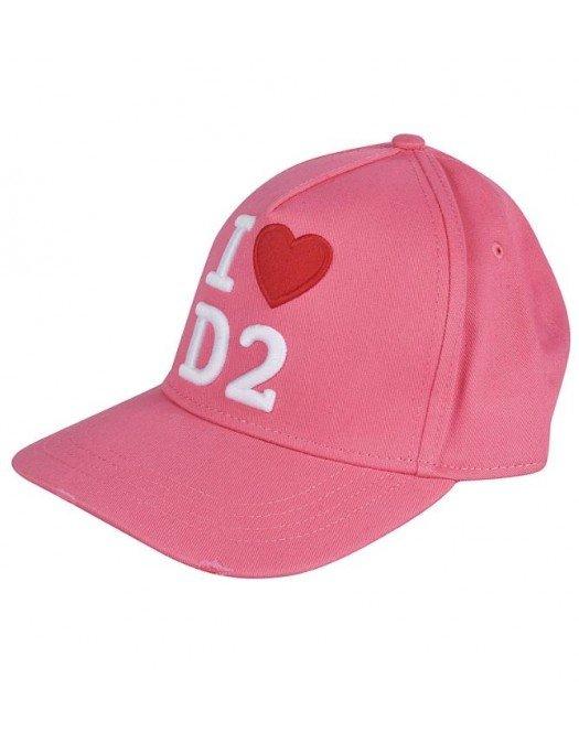 Sapca DSQUARED2, I love D2, Roz - BCW001705C000019245
