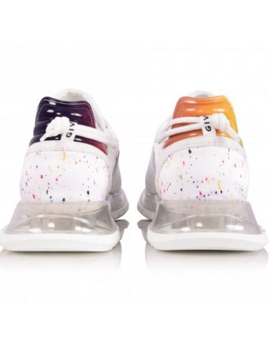 Sneakers Givenchy, Efect picaturi colorate - BH003AH0TY100