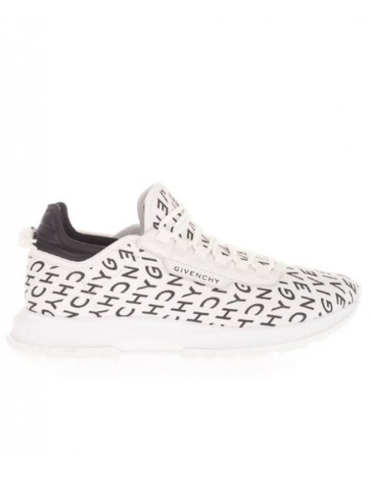 Sneakers Givenchy, White Trainers Logo - BH003AH0UP116