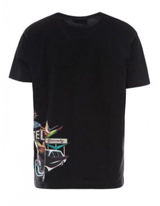 Tricou Givenchy, Imprimeu Colorat, Bumbac - BM710X3002