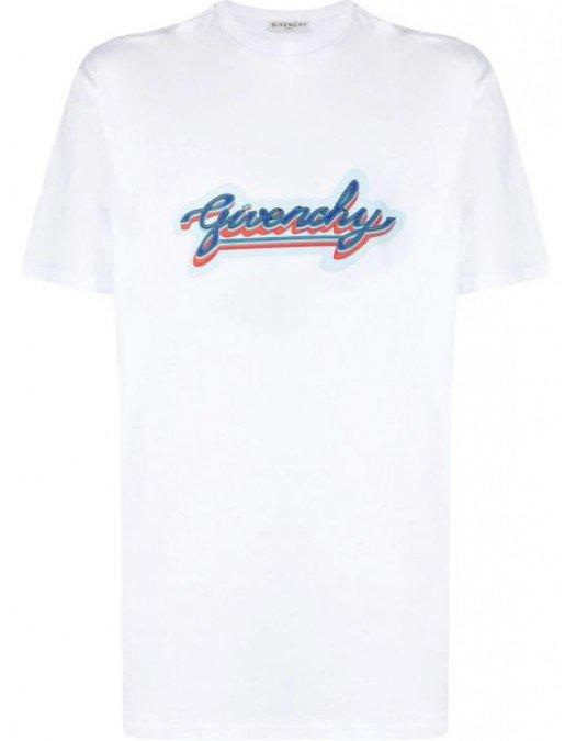 Tricou Givenchy, BM71123002100, Bumbac - BM71123002100