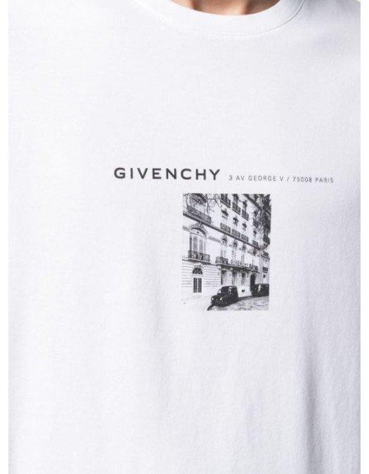 Tricou Givenchy, Bumbac, BM711M3002100 - BM711M3002100