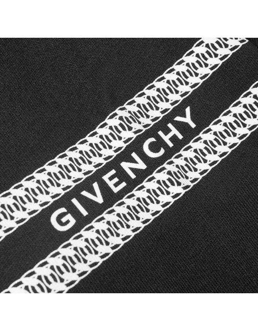 Hanorac GIVENCHY, Imprimeu frontal, Negru - BMJ081F001