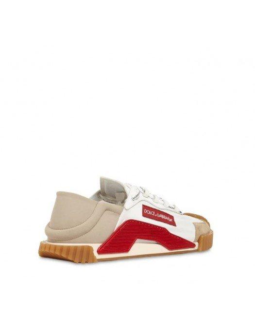 Sneakers Dolce&Gabbana, NS1, Red White - CS1768AQ00780995