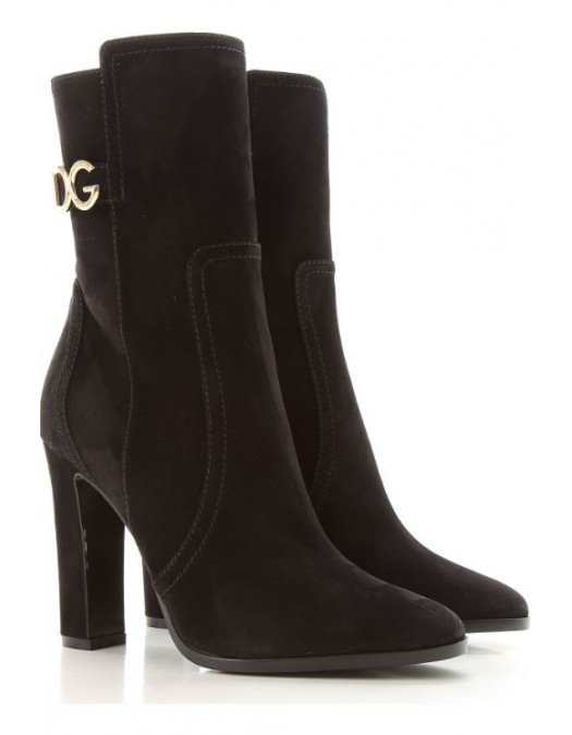 Ghete Dolce&Gabbana, Toc inalt, Piele Naturala - CT066980999