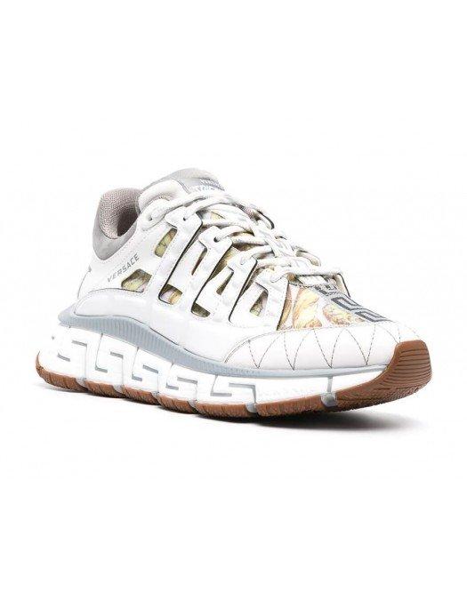 Sneakers Versace Trigreca, Alb Gri - DST539GD16TCGD014H