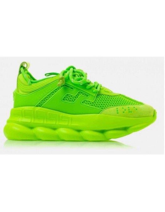 Sneakers Versace, Logo atasat, Verde - DSU7071ED11