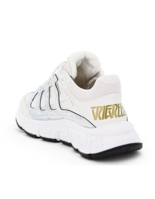 Sneakers Versace Trigreca, Alb Auriu - DSU8094/D18TCGD0191