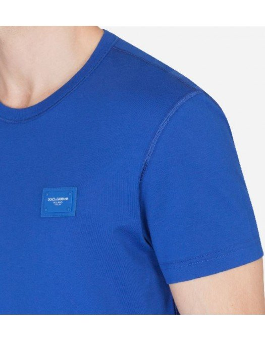 Tricou Dolce & Gabbana, Logo Brand, WHITE - G8KJ9TFU7EQW0800D