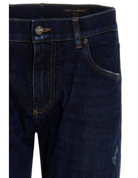 BLUGI DOLCE & GABBANA, Slim Fit Jean - GY07CDG8ED7S9001