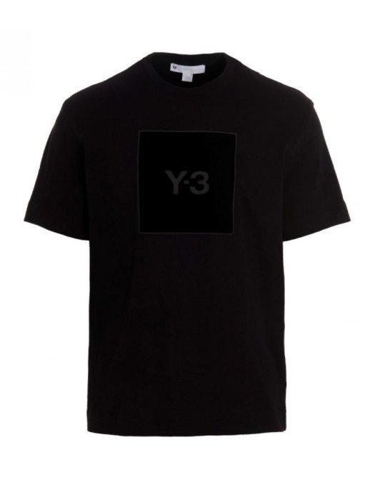 Tricou Y-3, Black Print Cotton - HB3332BLACK
