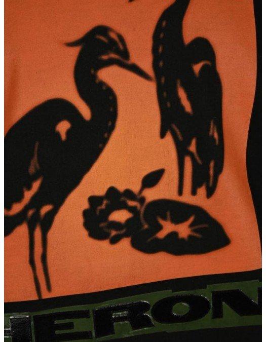 Tricou Heron Preston, Negru, Litho Graphic Print - HMAA020R21JER0031020