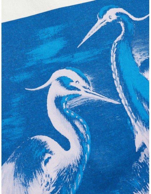 Tricou Heron Preston, Alb, Logo Albastru - HMAA020R21JER0040149
