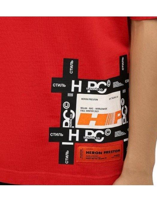 TRICOU HERON PRESTON, Red, Logo Atasat - HMAA025F21JER0022501