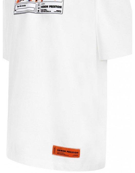 TRICOU HERON PRESTON, Imprimeu multicolor, Bumbac - HMAA025S21JER0020110