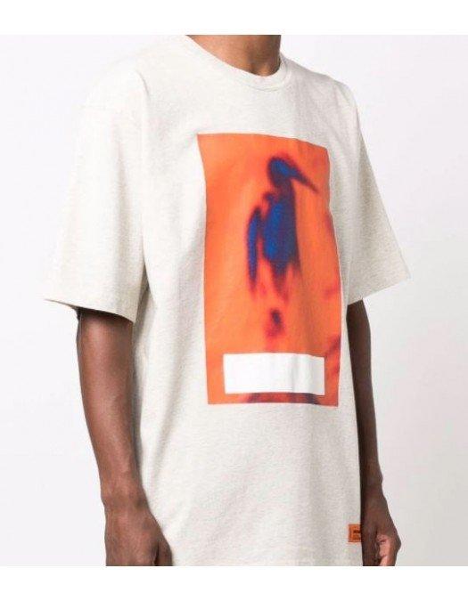 TRICOU HERON PRESTON, Censored Print Orange - HMAA026F21JER0050822
