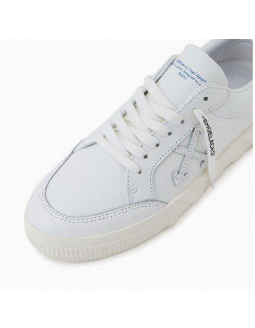 Sneakers Off White, Logo atasat, Alb - IA08A0030101