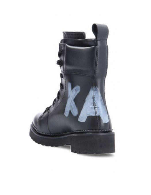 Ghete Karl Lagerfeld, Insertie logo, Negru - KL42870000