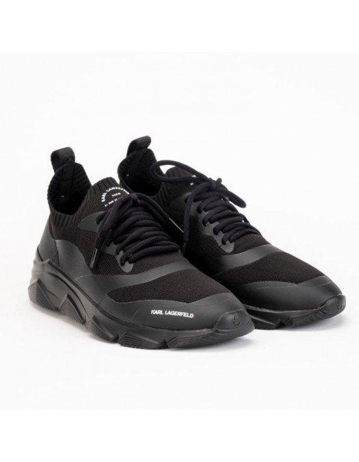 Sneakers Karl Lagerfeld, Black, Insertie alba - KL51631K0X