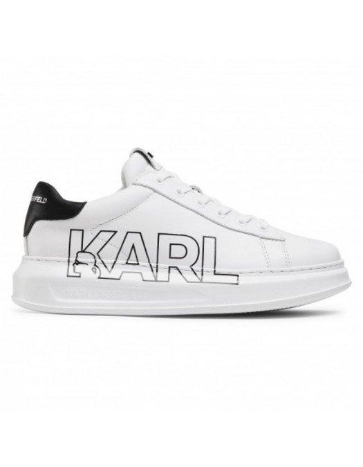Sneakers Karl Lagerfeld, Insertie Neagra, Logo Lateral - KL52523011