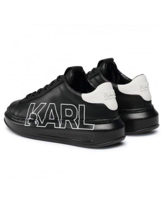 Sneakers Karl Lagerfeld, Talpa Inalta, Black - KL6251100S