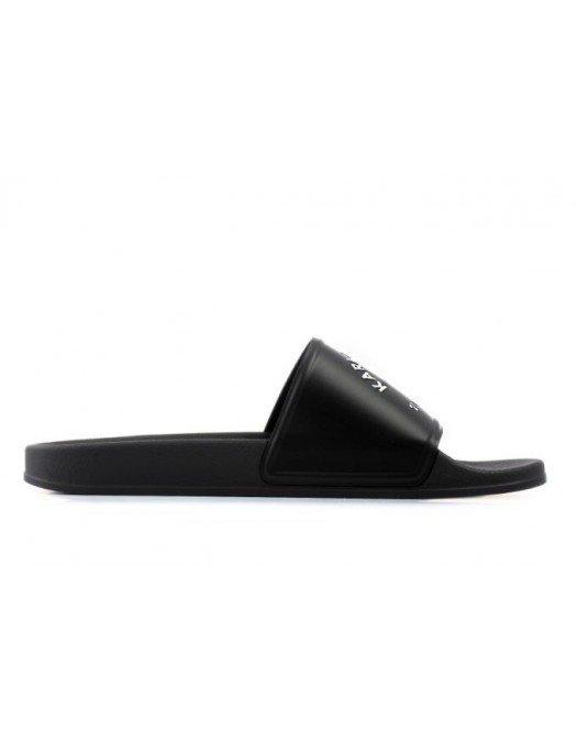 Papuci Karl Lagerfeld, Logo Alb, Cauciuc - KL70008V00