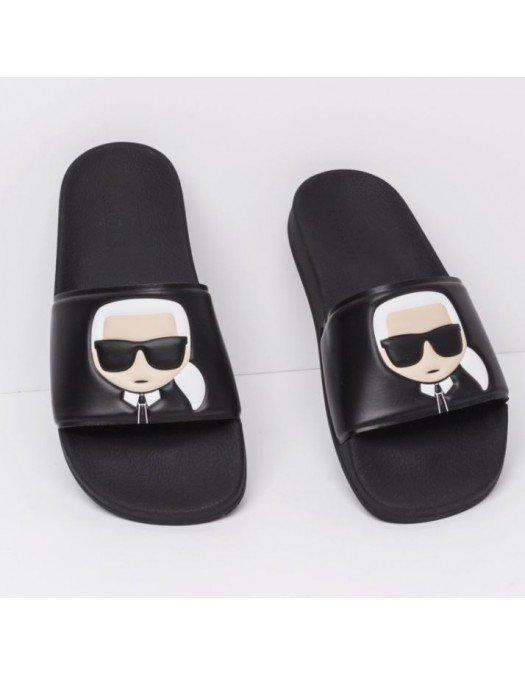 Papuci Karl Lagerfeld, Imprimeu Logo Karl - KL80905V00
