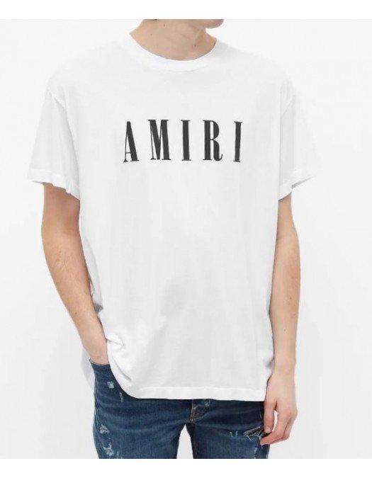 TRICOU AMIRI, White, Logo Print - MJLT001001