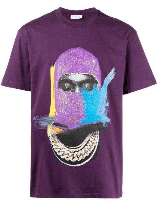 Tricou Ih Nom Uh Nit, Mask On Purple, NUS21241046 - NUS21241046