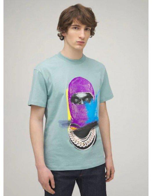 Tricou Ih Nom Uh Nit, Imprimeu Multicolor, Mask On - NUS21241085