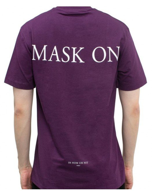 TRICOU IH NOM UH NIT, Bumbac, Mask Graphic, Purple - NUS21243046
