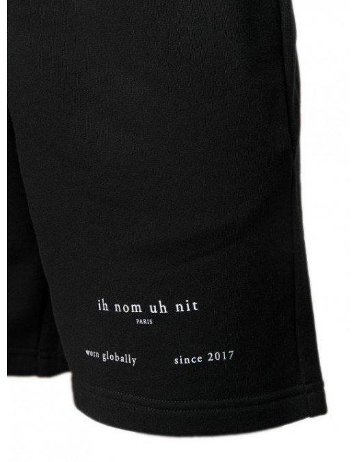 Pantaloni Scurti Ih Nom Uh Nit, Black, Bumbac - NUS21311009