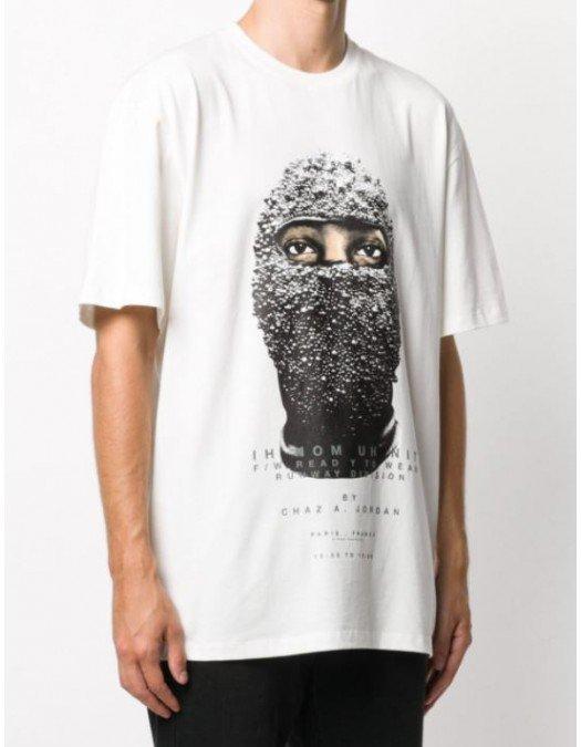 Tricou Ih Nom Uh Nit, Negru, Imprimeu contrastant - NUW20231081
