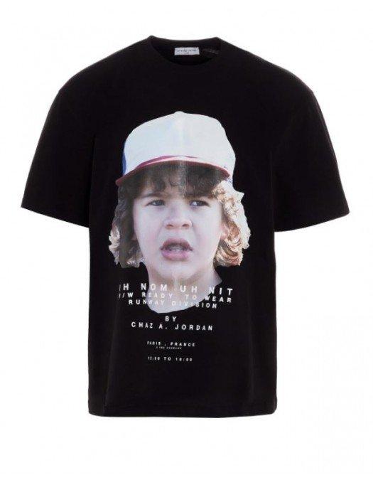 Tricou Ih Nom Uh Nit, Negru, Imprimeu frontal - NUW20237009