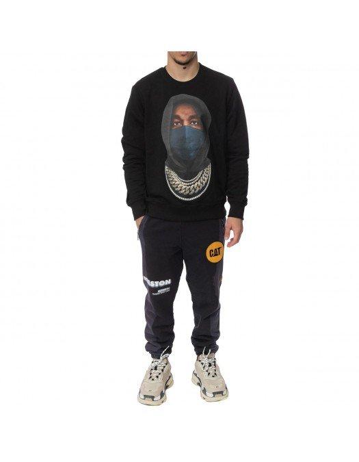 Bluza Ih Nom Uh Nit, Mask On, Black - NUW21253009