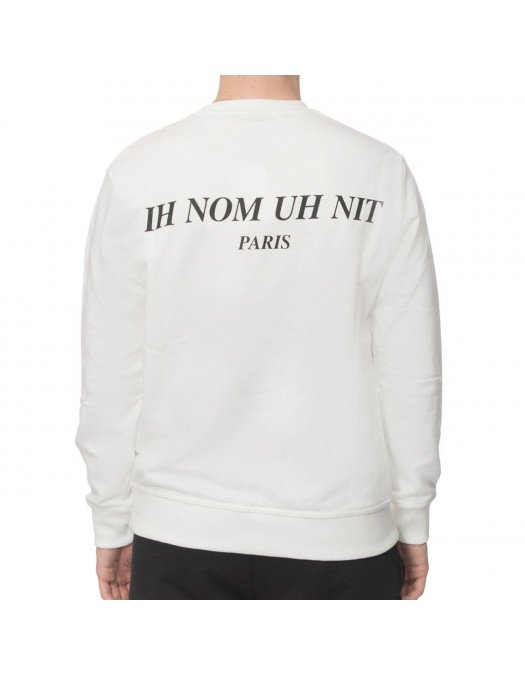 Bluza Ih Nom Uh Nit, Alb, Kanye Print - NUW21253081