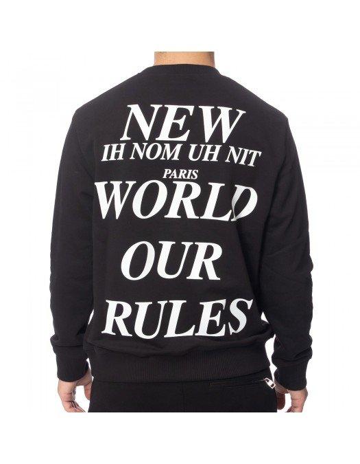 Bluza Ih Nom Uh Nit, FUTURE MASK, Black - NUW2183009