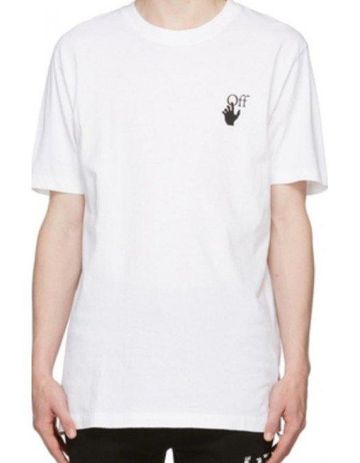 Tricou OFF WHITE, Degrade Arrow - OMAA027F21JER0050110