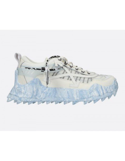 Sneakers OFF WHITE, BEIGE/BLUE, Piele - OMIA139S21FAB0010161