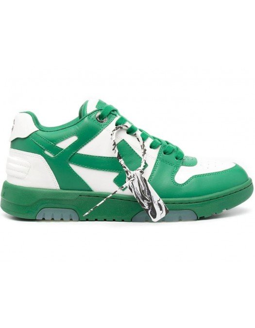 Sneakers OFF WHITE, Basket Out of Office, Verzi - OMIA189R21LEA0010455