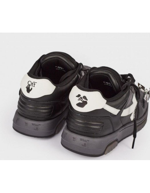 Sneakers OFF WHITE, Basket Out of Office, Black - OMIA189R21LEA0011001