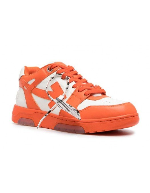 Sneakers OFF WHITE, Basket Out of Office, Orange - OMIA189R21LEA0012501