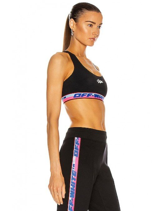 Top Off White, Logo Cropped - OWVO015R21JER0011001