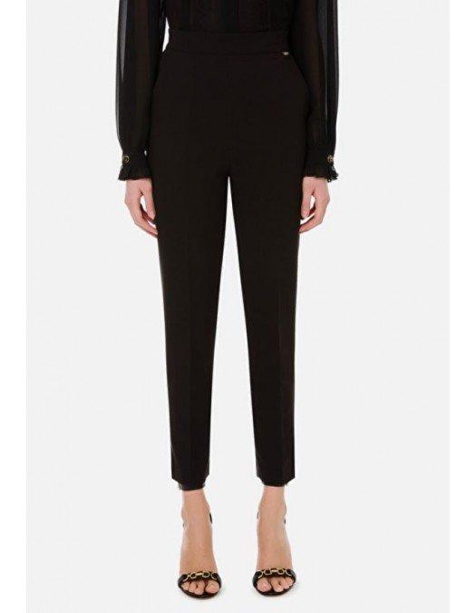Pantaloni ELISABETTA FRANCHI, Slim Fit, Black - PA38511E2110