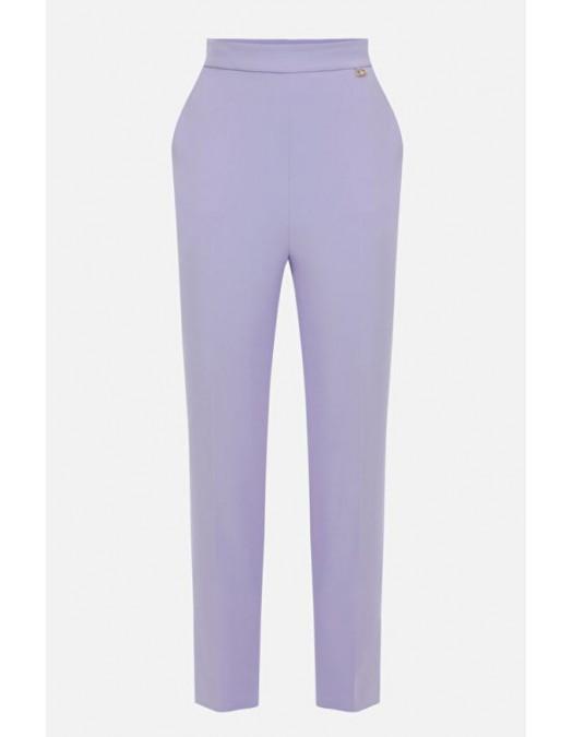 Pantaloni ELISABETTA FRANCHI, Slim Fit, Purple - PA38511E2Q38